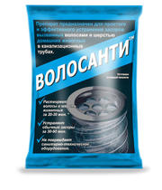 Волосанти, средство для устранения засоров от волос 50 гр