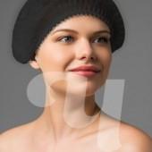 Шапочка шарлотка черная, 50 шт
