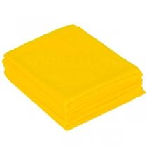 Простыня ЛЮКС 200х90, спанбонд, цвет желтый, 10 шт