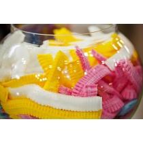 Шапочка шарлотка розовая 50шт