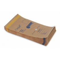 Крафт-пакеты коричневые 150х250, 100 шт