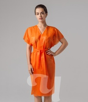 Халат кимоно оранжевый SMS 10 шт