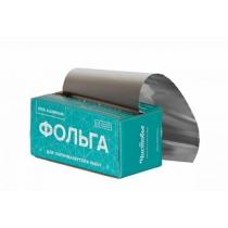 Фольга 16мкр 100м серебро Чистовье с коробкой