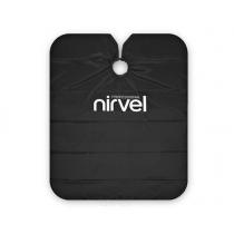Пеньюар многоразовый универсальный черный Nirvel Professional