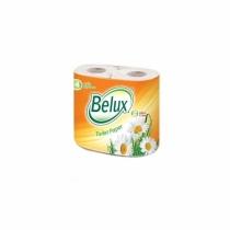 Туалетная бумага 2-х слойная BELUX 4 рулона