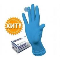 Перчатки нитриловые СИНИЕ HIGH RISK ,L 50 шт/ уп