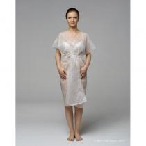 Халат кимоно без рукавов белый, 10 шт