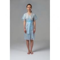 Халат кимоно без рукавов голубой SMS, 10 шт