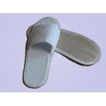 Тапочки одноразовые махровые эконом арт. Т-5031 размер 43-44 цвет БЕЛЫЙ