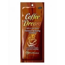 Крем для загара SolBianca с маслом кофе, Ши и бронзаторами, 15 мл