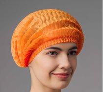 Шапочка шарлотка оранжевая, 50 шт
