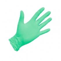 Перчатки нитриловые зеленые, размер S, 50 пар