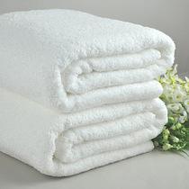 Полотенце 100*140 банное махровое белое